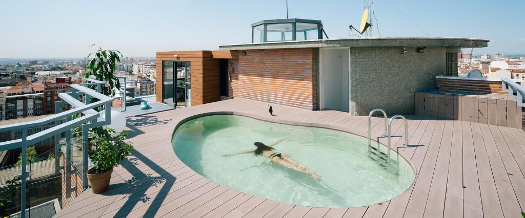 1 13 - Espectacular ático con piscina en Chamberí: como un chalet bajo el cielo de Madrid
