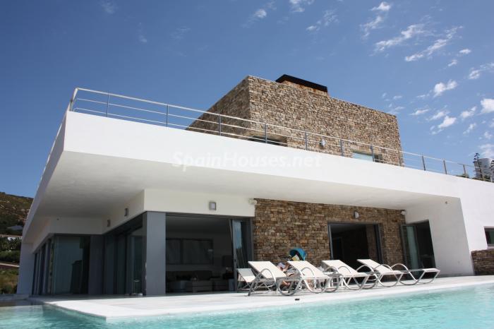 1 Exterior - Naturaleza y mar en una fantástica villa en Zahara de los Atunes (Costa de la Luz, Cádiz)