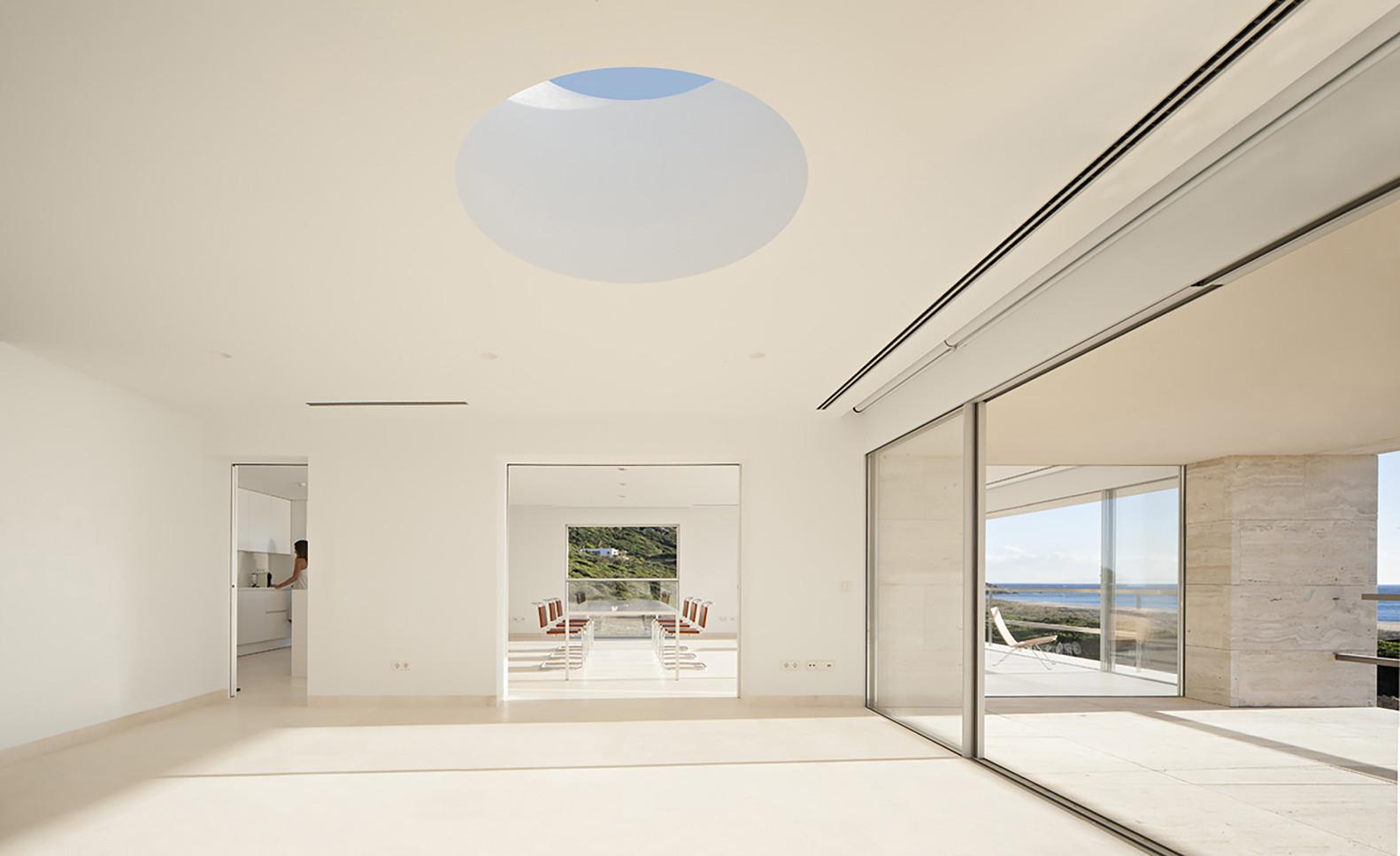 """10 11 - """"Casa del infinito"""": Horizonte espectacular de cielo y mar en Zahara de los Atunes (Cádiz)"""