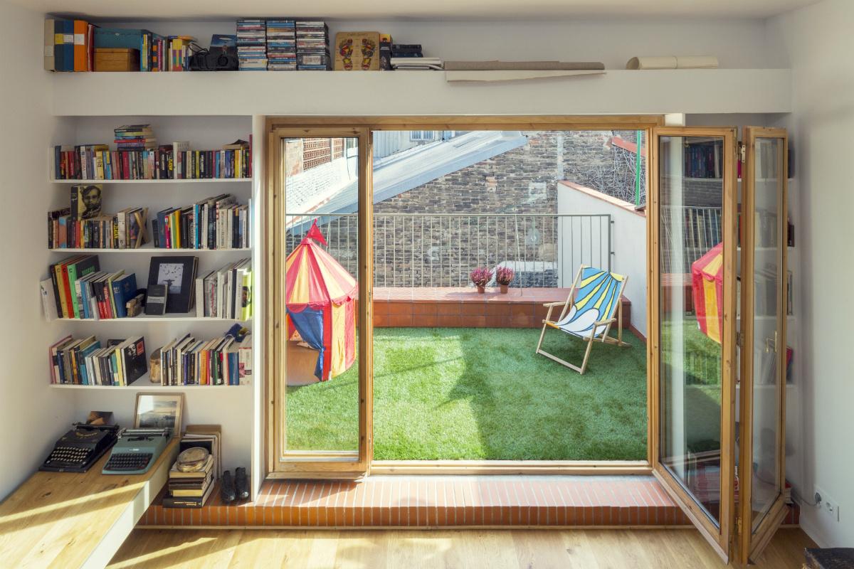 """10 5 - """"La Casa de Juno"""": original, sorprendente y práctica vivienda en Poblenou, Barcelona"""