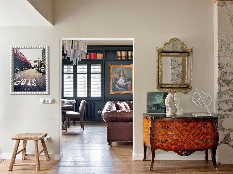 1020 - Toque vintage con auténtico encanto en un genial loft reformado en Barcelona