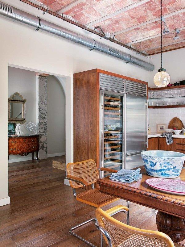 1125 - Toque vintage con auténtico encanto en un genial loft reformado en Barcelona