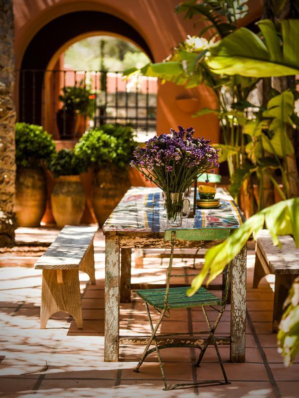 "1126 - Preciosa casa con un armonioso y cálido ambiente ""chill out"" en Cala D´Hort, Ibiza"