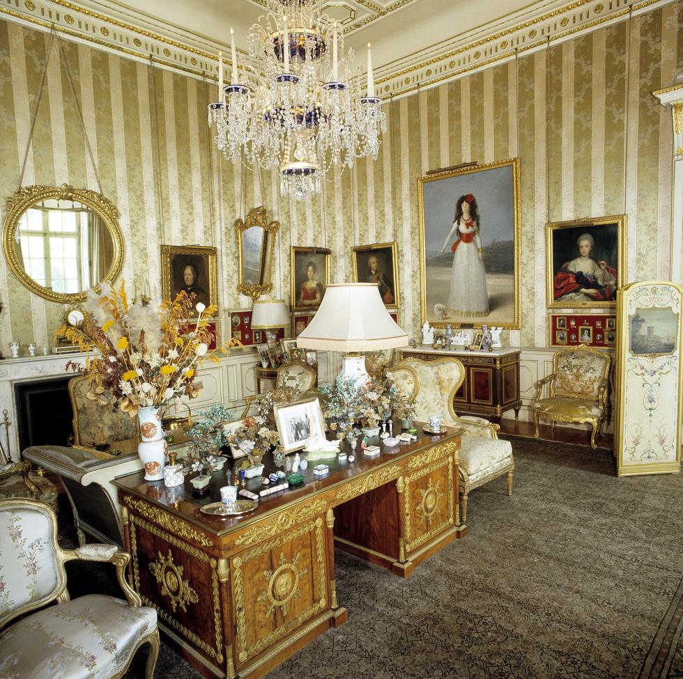 119 interior del palacio de liria de madrid - Los Alba alquilan el palacio de Liria para fiestas
