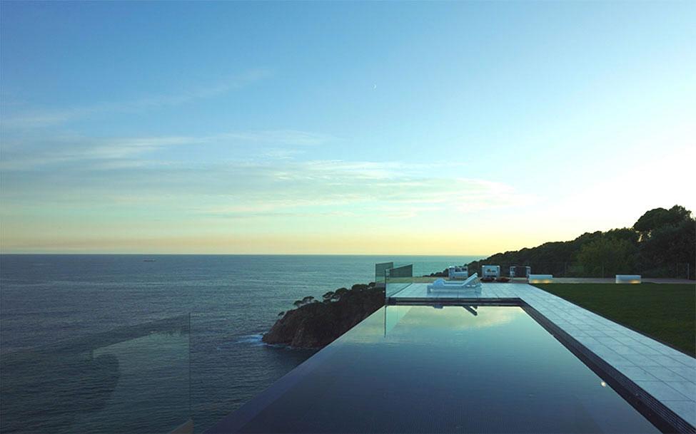 12 12 - Diseño en el acantilado en una fantástica casa en Tossa de mar (Costa Brava, Girona)