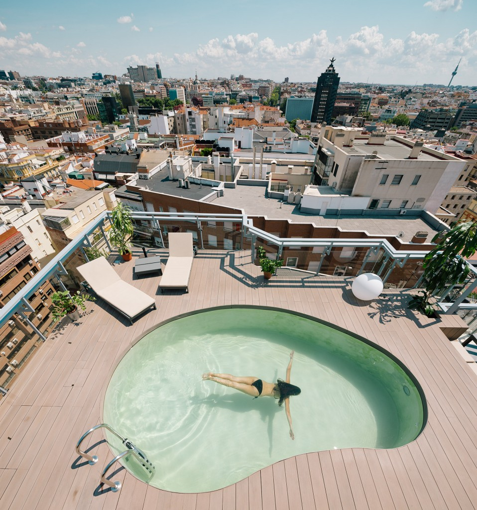 12 13 - Espectacular ático con piscina en Chamberí: como un chalet bajo el cielo de Madrid
