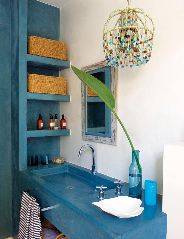 12 3 - Toque refrescante y ecléctico en una preciosa casa en Sotogrande (Costa de la Luz, Cádiz)