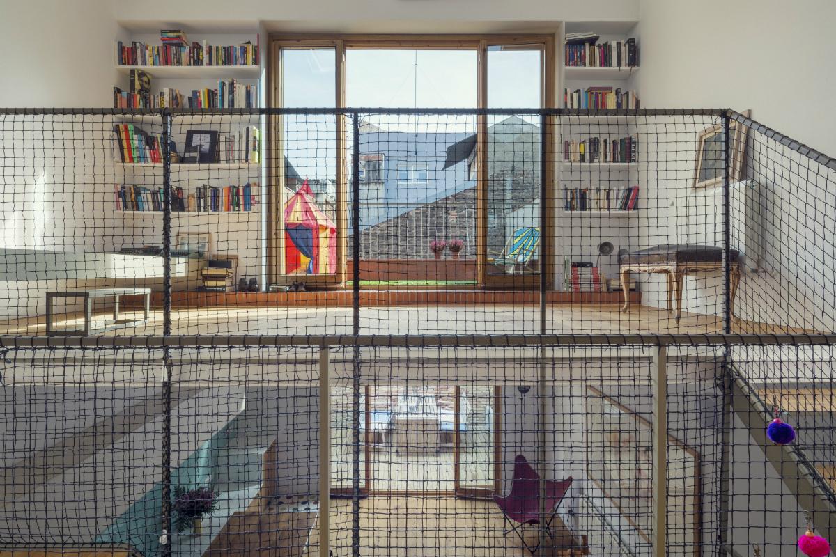 """12 5 - """"La Casa de Juno"""": original, sorprendente y práctica vivienda en Poblenou, Barcelona"""
