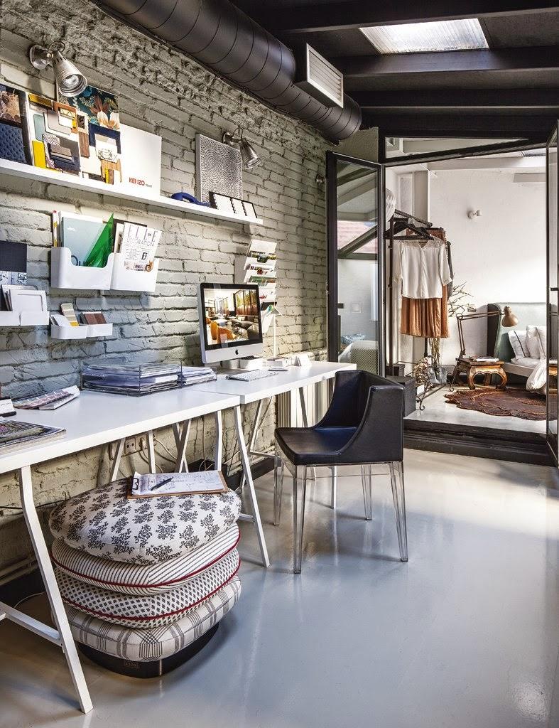 1217 - De antiguo taller a moderno y encantador loft en el barrio de Salamanca de Madrid