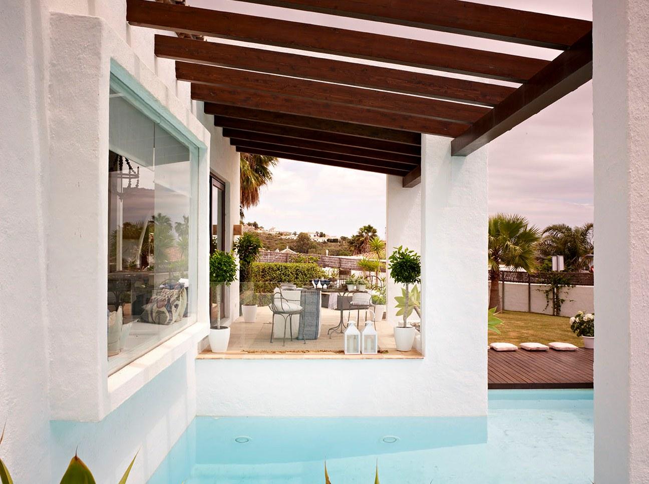 1220 - Esencia andaluza de luz y frescura en una preciosa casa en Sotogrande, Cádiz