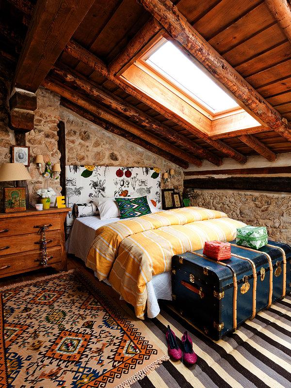 13 1 - Toque cálido de primavera en una preciosa casa de campo en Sepúlveda, Segovia
