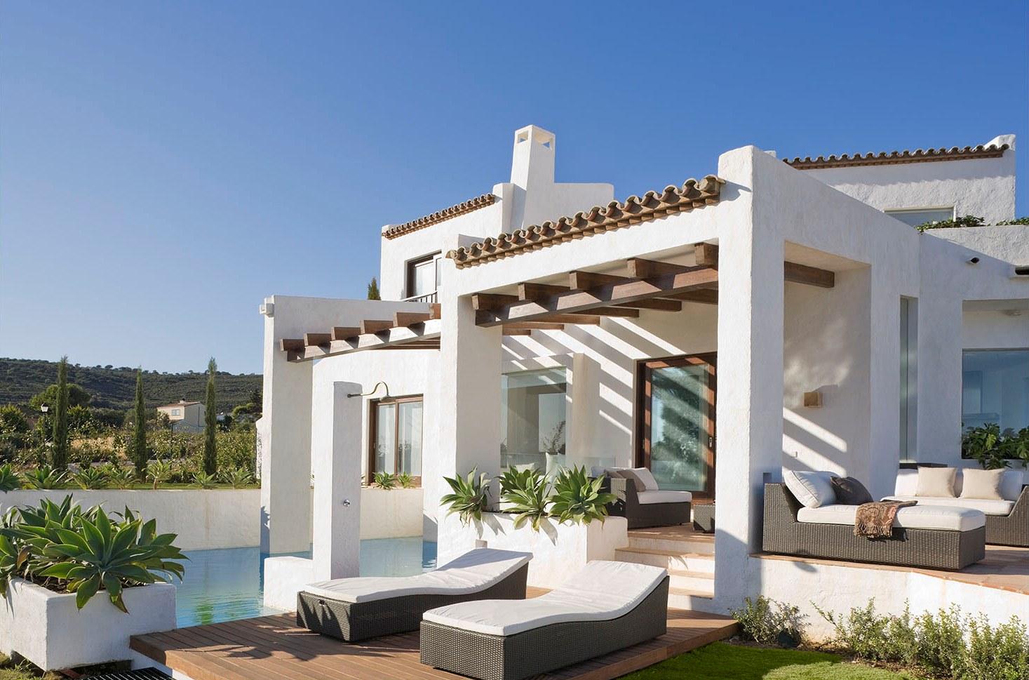 1318 - Esencia andaluza de luz y frescura en una preciosa casa en Sotogrande, Cádiz
