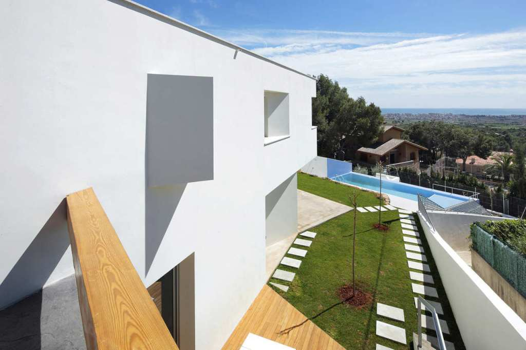 141 - Casa Ripolles-Manrique: diseño contemporáneo en Benicasim (Costa del Azahar, Castellón)