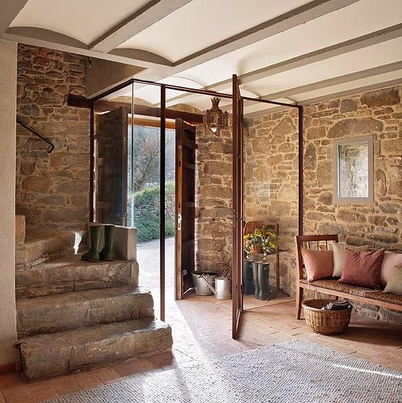 1412 - Masía del s. XVI reconvertida en espectacular casa rural en La Garrotxa, Girona