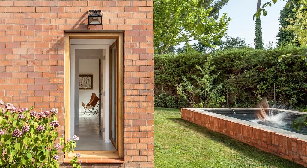 144 - La relación perfecta entre una fantástica casa y su jardín, Sant Cugat del Vallés (Barcelona)