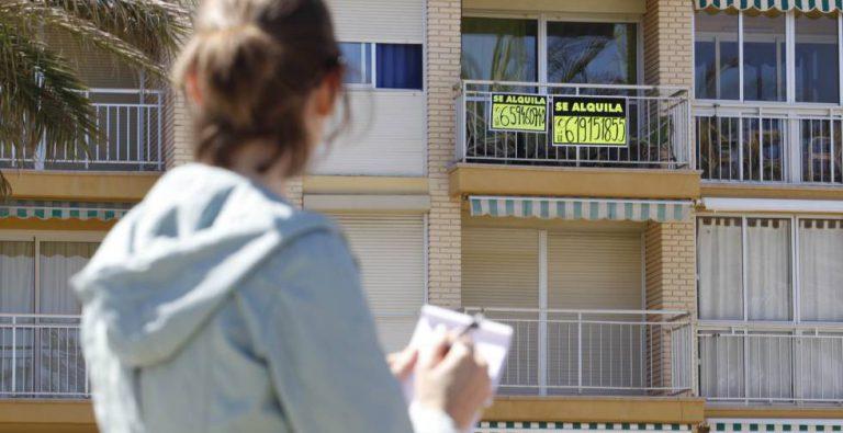 El PSOE propone medidas para frenar el aumento desmesurado del precio del alquiler