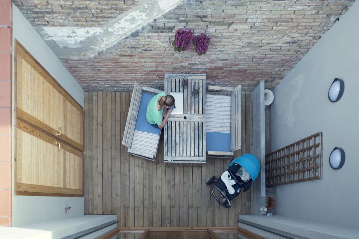 """15 2 - """"La Casa de Juno"""": original, sorprendente y práctica vivienda en Poblenou, Barcelona"""