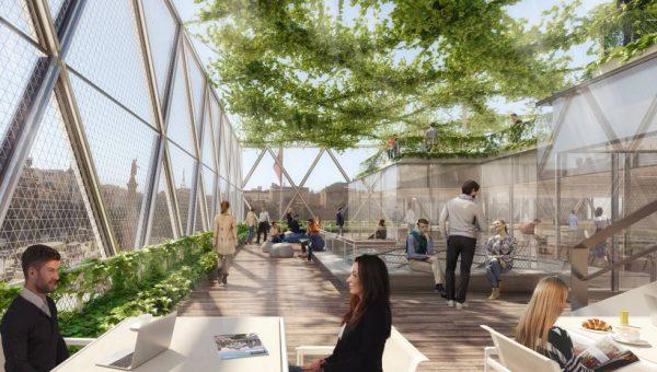1529487356 836227 1529492418 sumario normal 600x340 - Madrid estrenará Axis, un edificio diseñado por Norman Foster