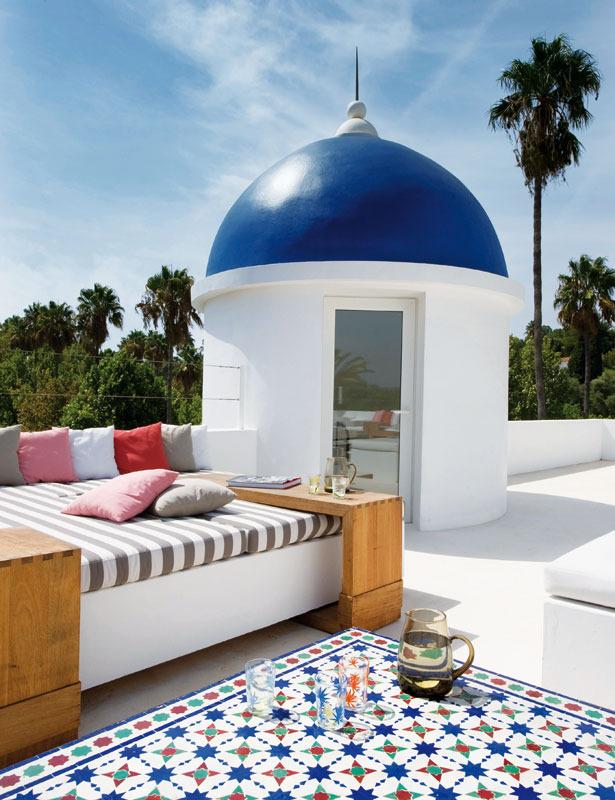 16 1 - Toque refrescante y ecléctico en una preciosa casa en Sotogrande (Costa de la Luz, Cádiz)