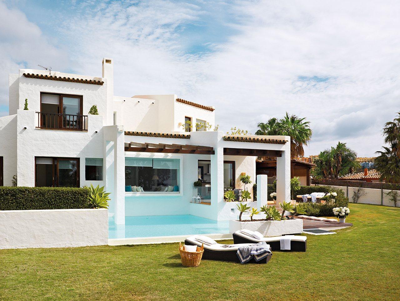 160 - Esencia andaluza de luz y frescura en una preciosa casa en Sotogrande, Cádiz