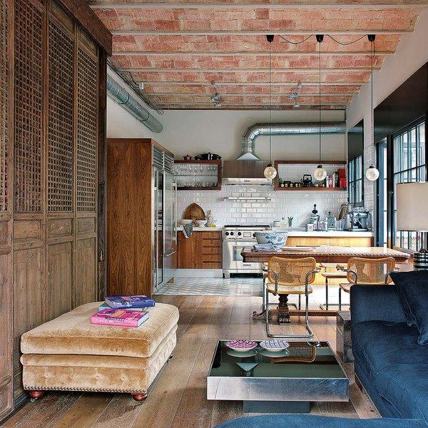 164 - Toque vintage con auténtico encanto en un genial loft reformado en Barcelona