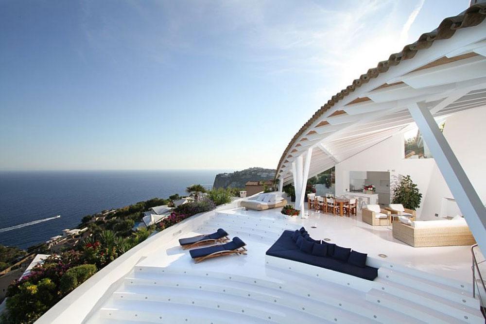 17 4 - Espectacular villa en Puerto de Andratx (Mallorca), con un fantástico diseño de gaviota