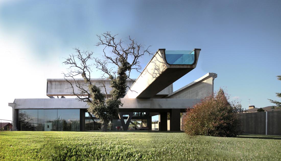 17 6 - Casa Hemeroscopium: imponente y atrevido diseño en Las Rozas de Madrid