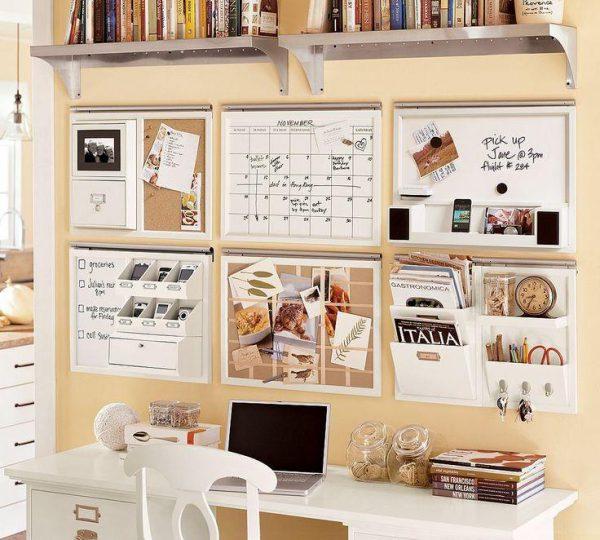"""1862368 9 600x540 - Deco: Tips para organizar tu """"working room"""" o zona de trabajo"""