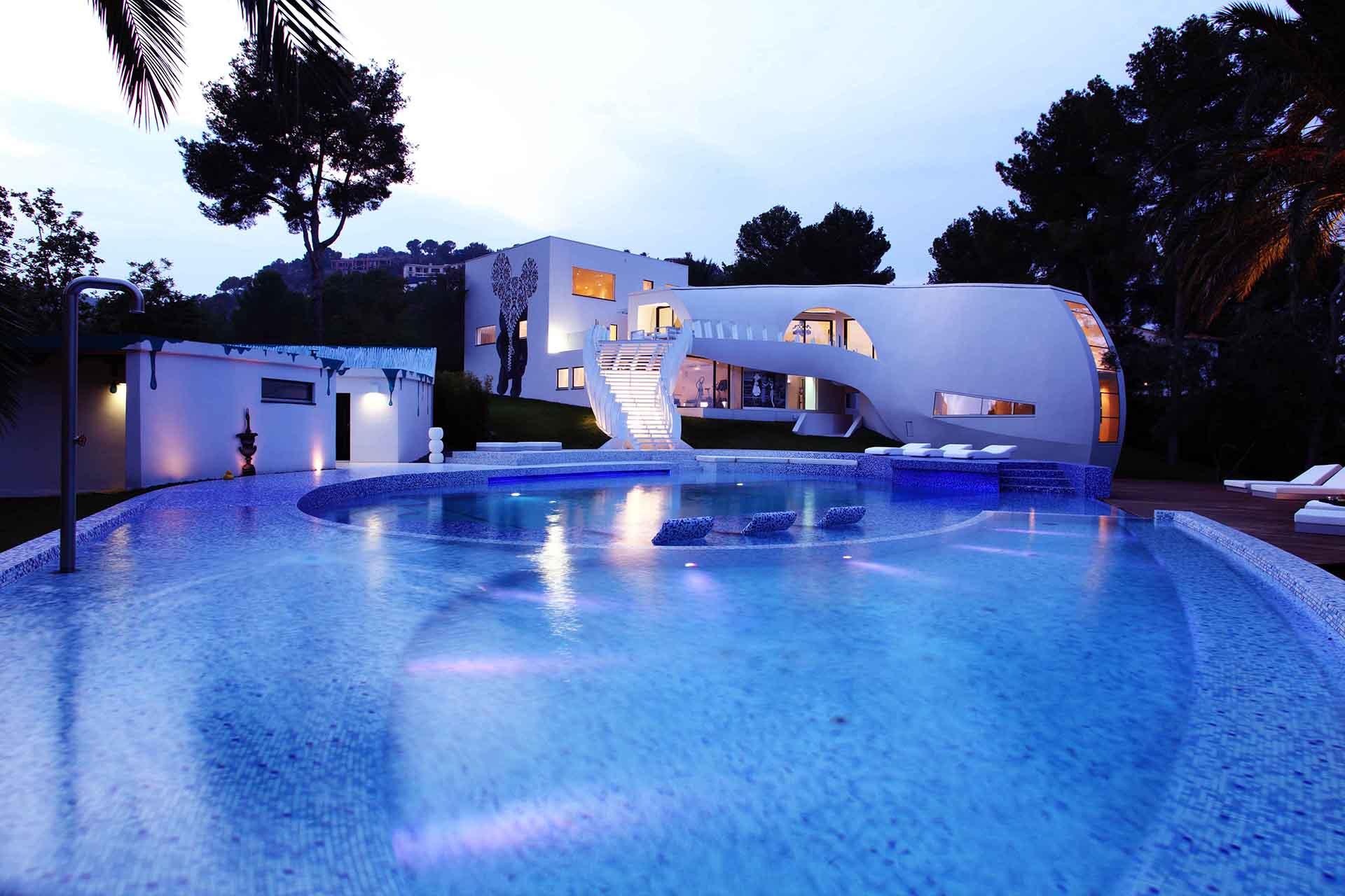 19 1 - Espectacular casa llena de originalidad y diseño en Son Vida, Palma de Mallorca