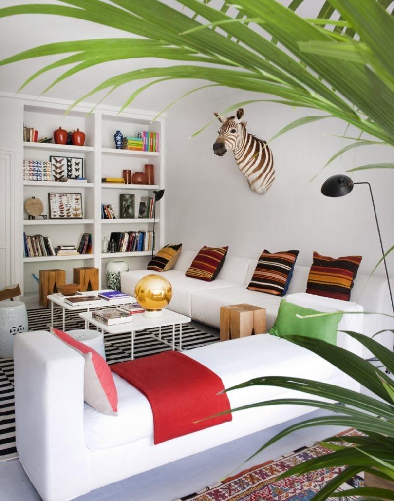 2 10 - Precioso piso en Madrid lleno de color, luz y alegre diseño contemporáneo
