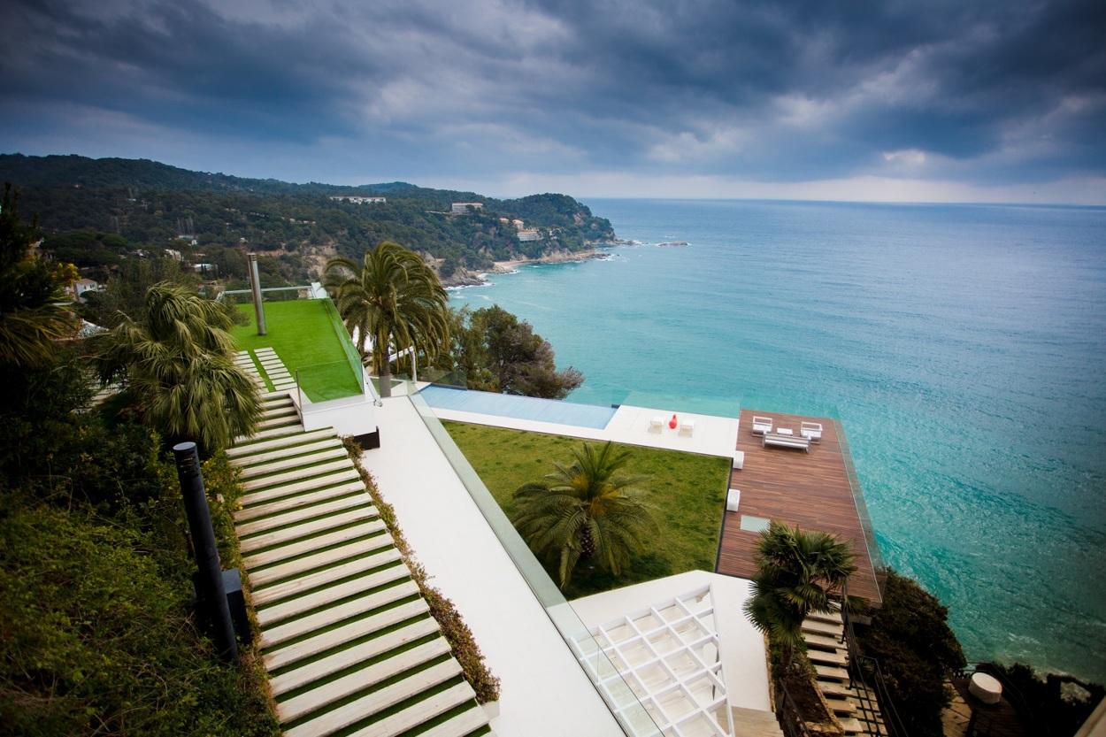 2 14 - Diseño en el acantilado en una fantástica casa en Tossa de mar (Costa Brava, Girona)