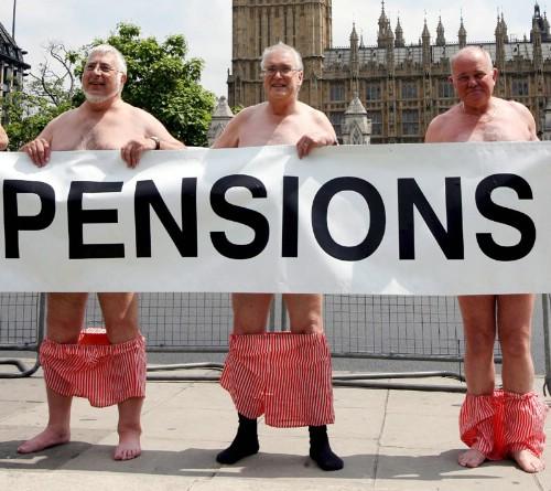 Pensiones públicas y privadas