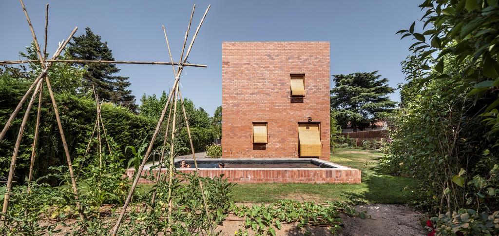 217 - La relación perfecta entre una fantástica casa y su jardín, Sant Cugat del Vallés (Barcelona)