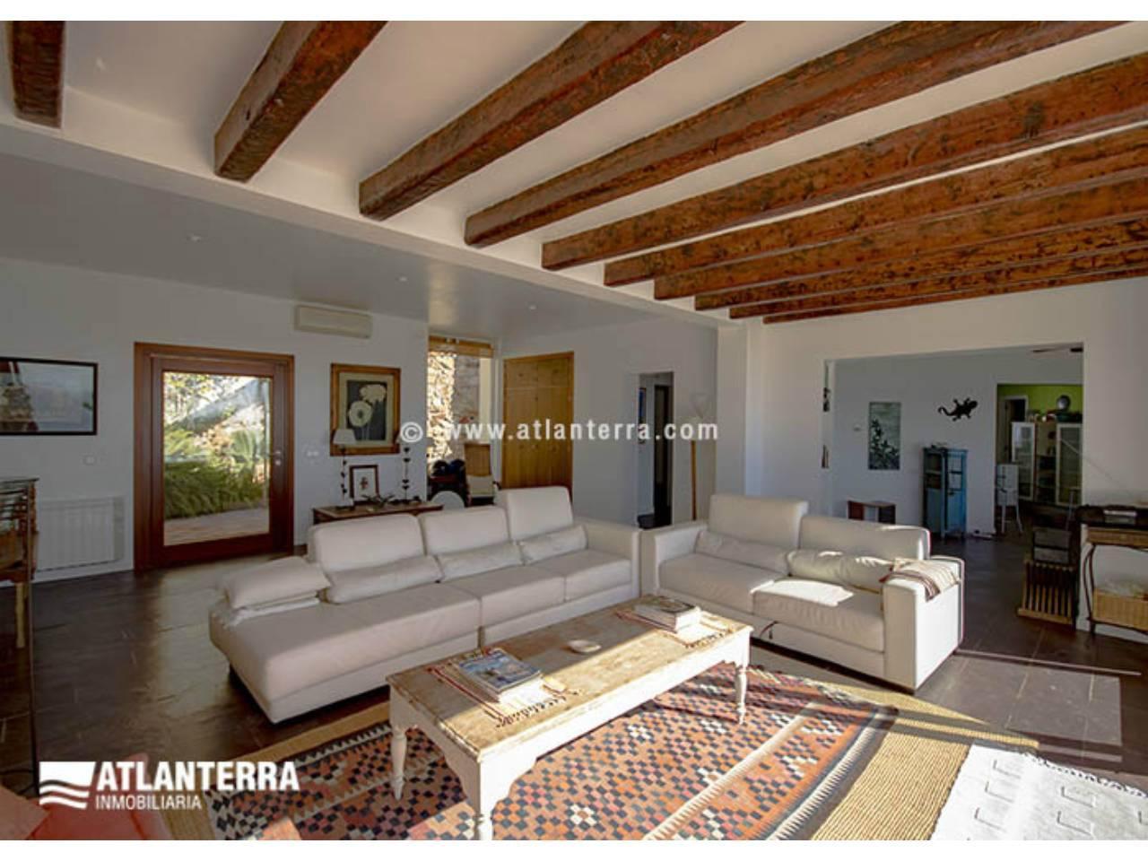 25885350 3170057 foto 075273 - Estilo rústico, privacidad y vistas maravillosas en esta villa en Zahara de los Atunes (Cádiz)