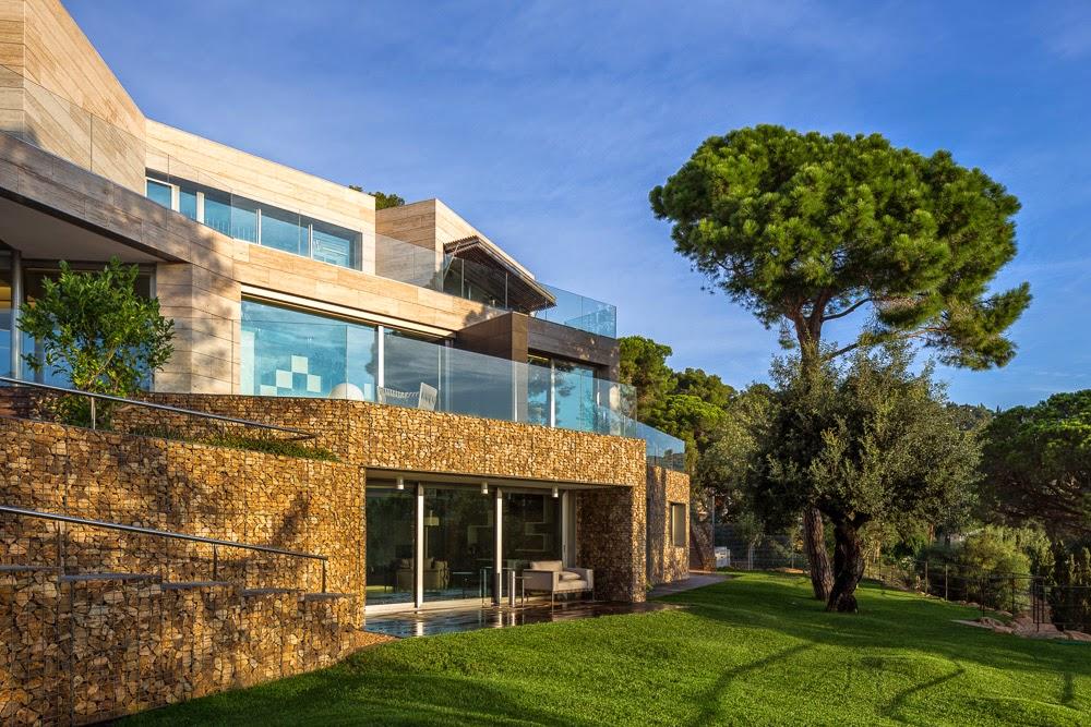 27 - Casa Llorell: diseño, lujo y serenidad en Tossa de Mar, Costa Brava (Girona)