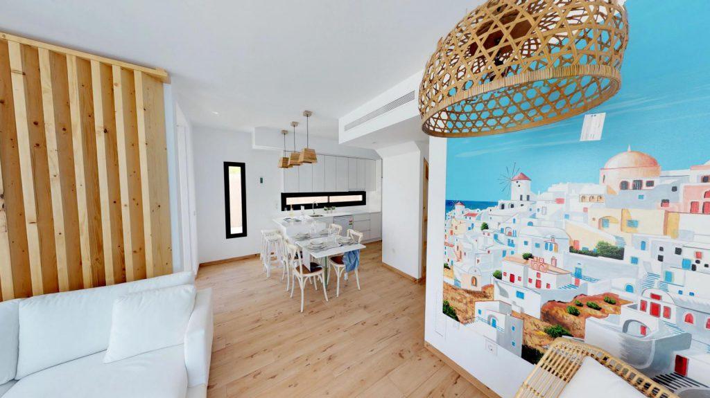 28013442 2764628 foto 209674 1024x575 - Sol, diseño y una piscina laguna en esta villa en La Tercia (Murcia)