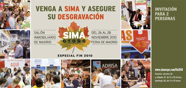 El SIMA Fin de la Desgravación - invitación