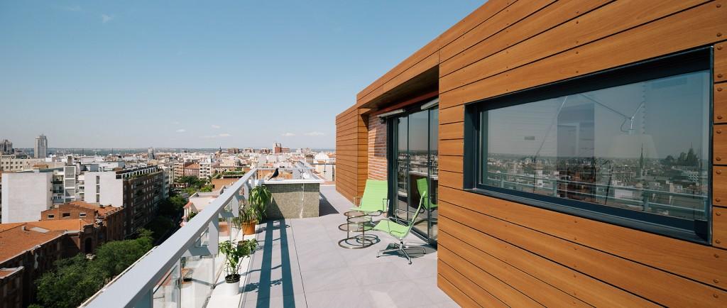3 15 - Espectacular ático con piscina en Chamberí: como un chalet bajo el cielo de Madrid