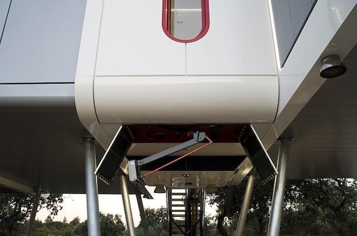 3 20 - Casa futurista o bella nave espacial para vivir en La Moraleja (Alcobendas, Madrid)