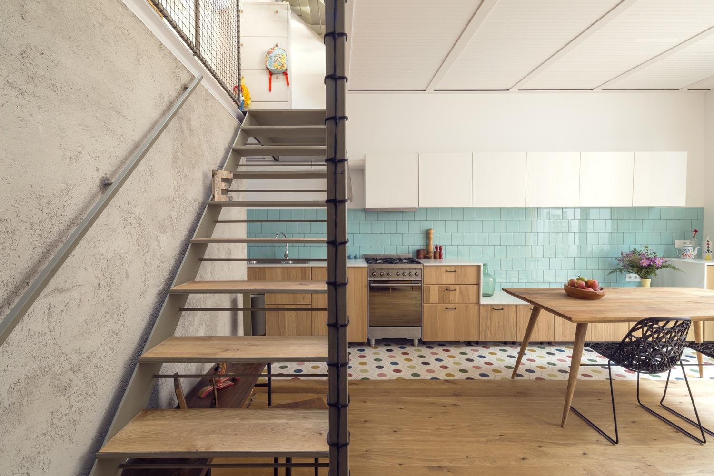 """3 5 - """"La Casa de Juno"""": original, sorprendente y práctica vivienda en Poblenou, Barcelona"""