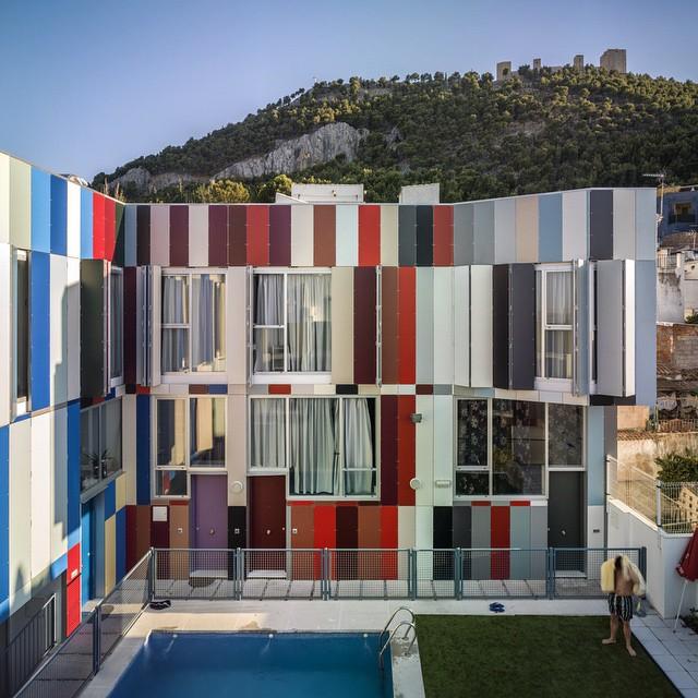 318 - Toque fresco, urbano y lleno de color en el barrio de San Juan de Jaén