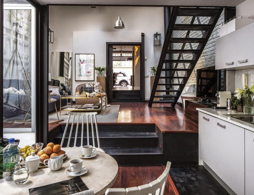 322 - De antiguo taller a moderno y encantador loft en el barrio de Salamanca de Madrid