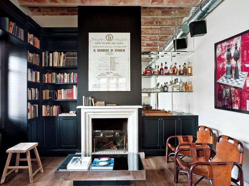 327 - Toque vintage con auténtico encanto en un genial loft reformado en Barcelona