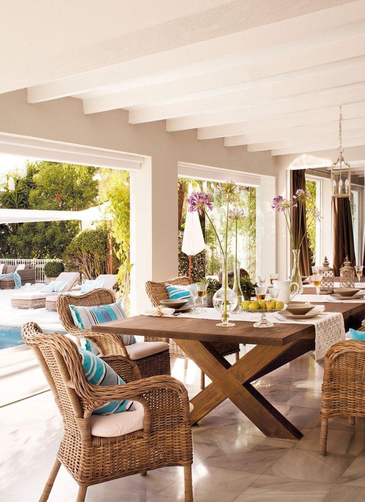 39 - Toques de arena y tierra: los últimos días de verano en una preciosa casa en Marbella