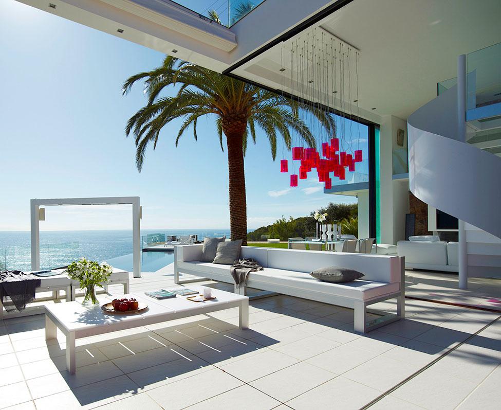 4 14 - Diseño en el acantilado en una fantástica casa en Tossa de mar (Costa Brava, Girona)