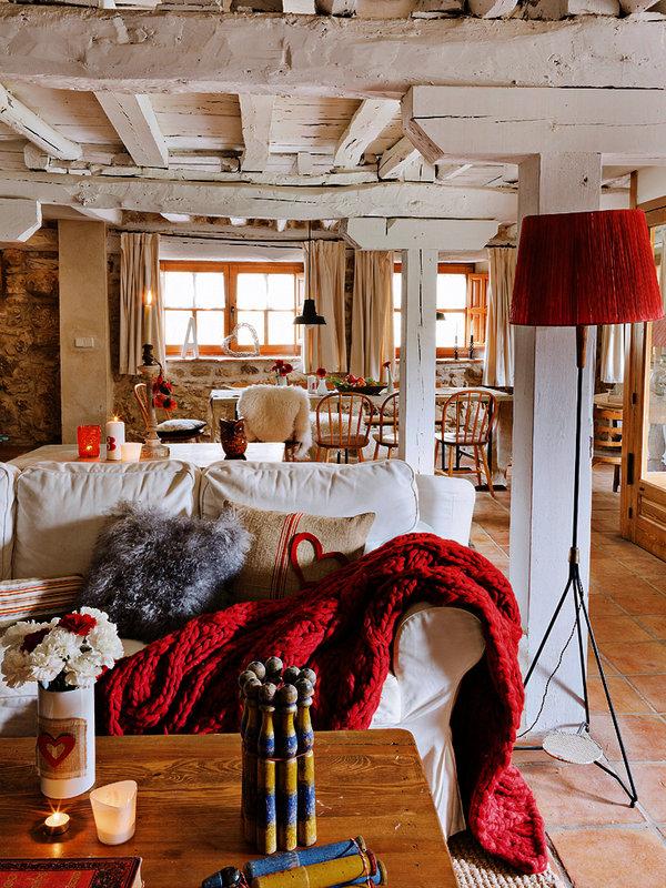 4 2 - Toque cálido de primavera en una preciosa casa de campo en Sepúlveda, Segovia