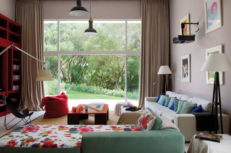 4 3 - Toque refrescante y ecléctico en una preciosa casa en Sotogrande (Costa de la Luz, Cádiz)