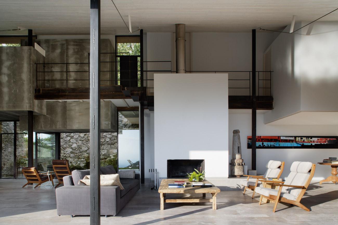 4 salon - De antiguo establo rural a fantástica casa rústica en Cáceres: un remanso de paz y naturaleza