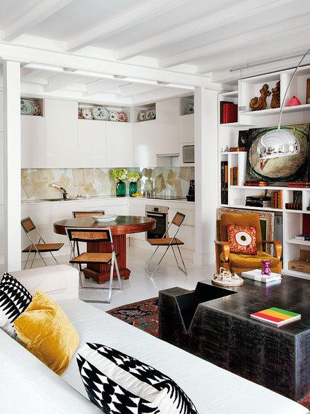 419 - Precioso piso reformado en Madrid: toque ecléctico lleno de luz, arte y decoración