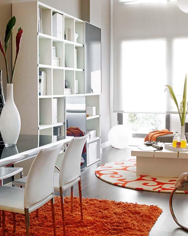 430 - Espacios Pequeños: Loft en Móstoles (Madrid) con un precioso toque de calidez, color y diseño